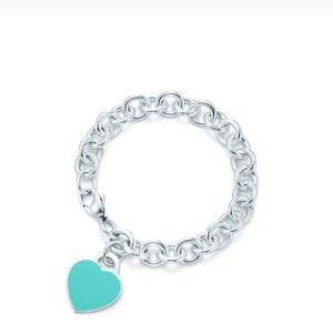 Tiffany Blue Heart Bracelet